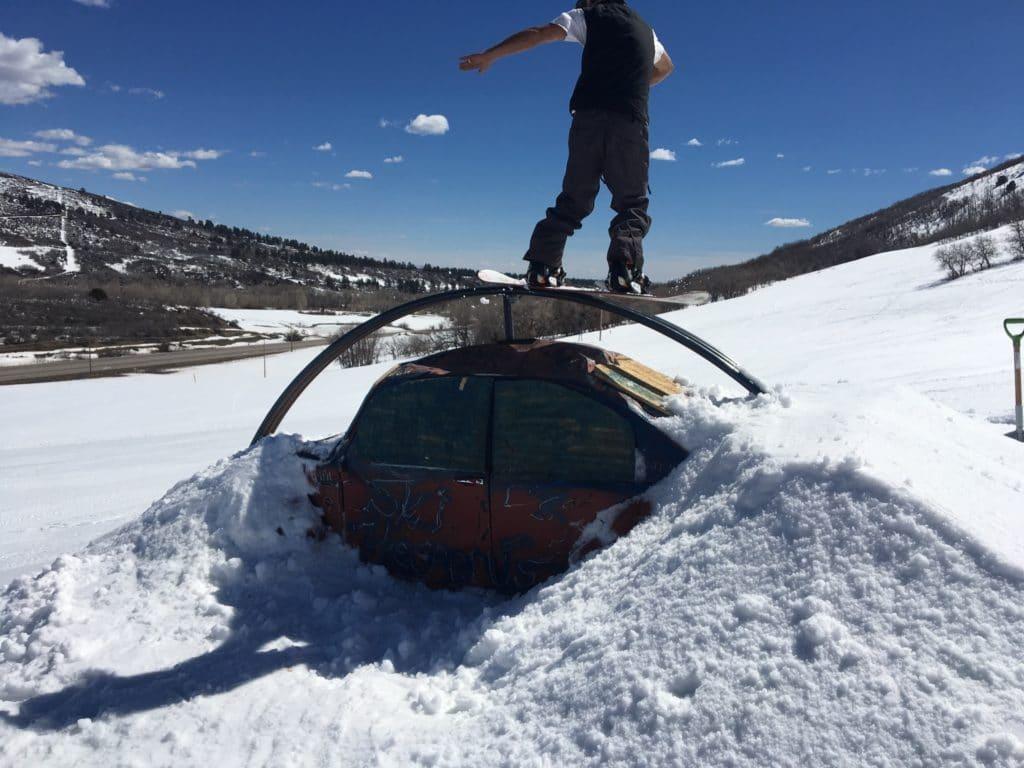 hesperus terrain park durango ski snowboard
